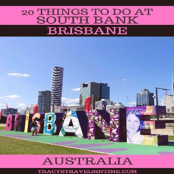20 things to do at SOUTH BANK in BRISBANE - a fantastic day out for all the family -