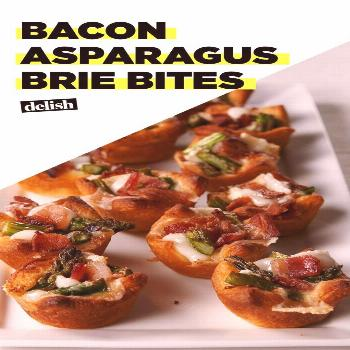 Bacon Asparagus Brie Bites Are The Perfect Easter App These Bacon Asparagus Brie Bites will be the
