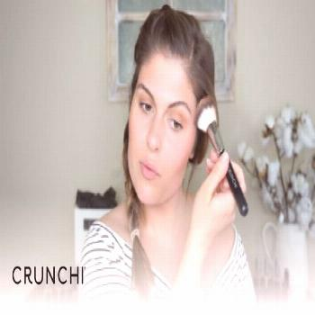 Bronzed and Glowing Summer Makeup Look  CRUNCHI        Crunchi bronzer is so easy to use for giving
