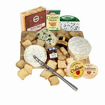 GiftWorld French Cheese Gift Basket – Delicious Cheese