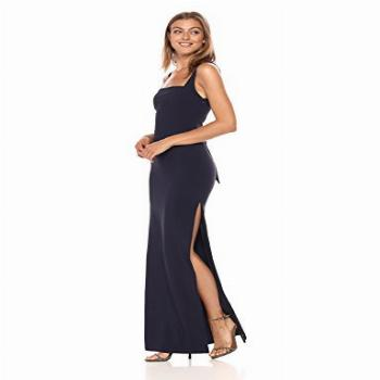 LIKELY Women's Phillipa Bridesmaids Gown, Navy, 4