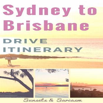 Plan your amazing east coast Australia road trip with this useful Sydney to Brisbane drive itinerar