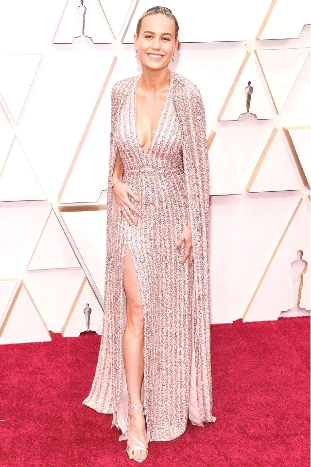 Brie Larson at the 2020 Oscars Brie Larson at the 2020 Oscars