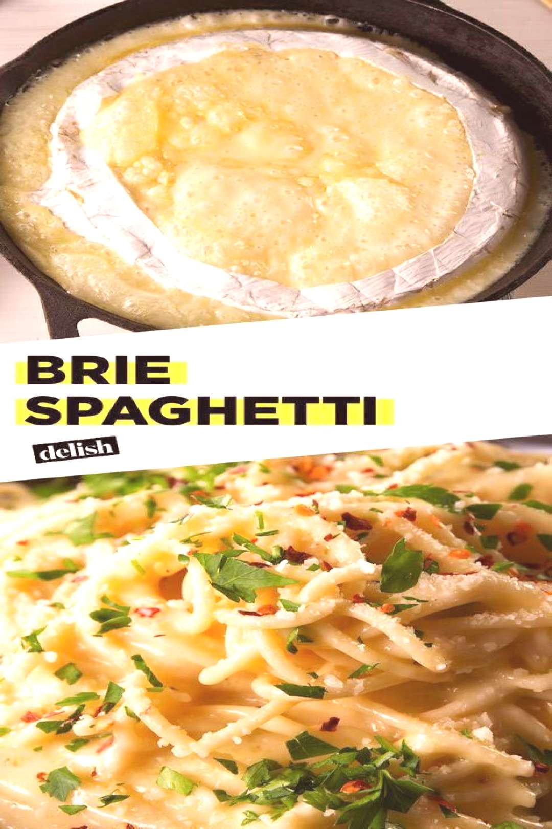 Brie Spaghetti will be the cheesiest, creamiest pasta youve ever tasted. Get the recipe at .