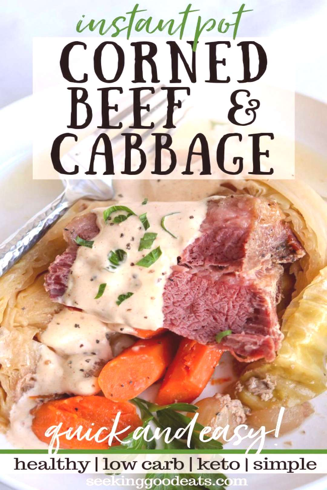 Slow Cooker Corned Beef and Cabbage The best corned beef recipe made in your instant pot! Corned be