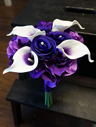 Sweet Home Deco Real Touch Calla Lily Wedding Bride