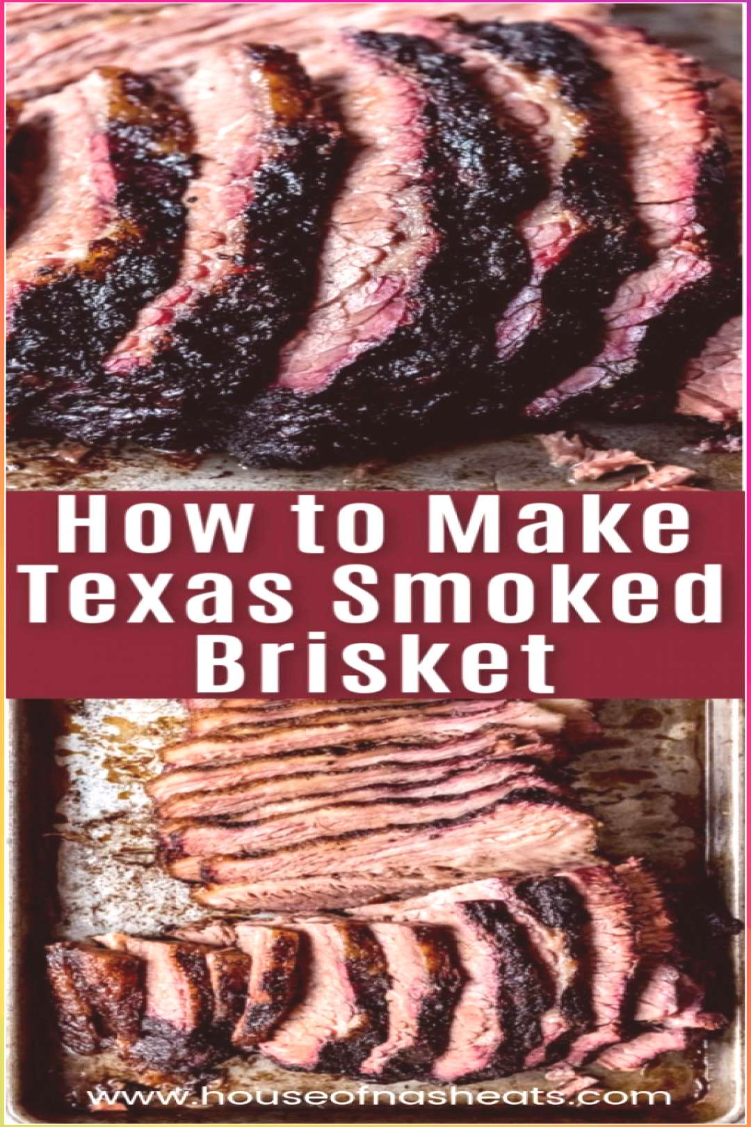 Texas Smoked Brisket - Meat Recipes Meat R...#asian