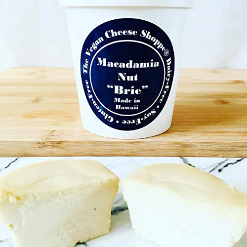 THE VEGAN CHEESE SHOPPE MACADAMIA NUT quotBRIEquot MADE IN HAWAII.