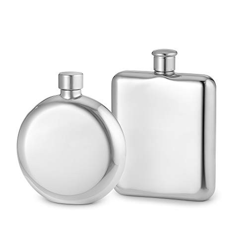 Things Remembered Personalized Bride and Groom Flask Set